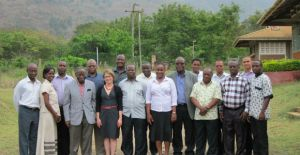 Researchers and communicators at the workshop in Morogoro, Tanzania.